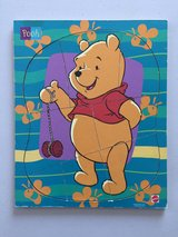 8 Piece Winnie the Pooh Wood Puzzle in Manhattan, Kansas