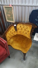 Antique gold chair in Camp Lejeune, North Carolina