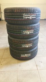 Honda Civic brand NEW all season tires (M+S) on alloy wheels 195 / 50 R15 in Ramstein, Germany