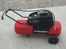 Husky air compressor in Fort Leonard Wood, Missouri