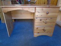 Pine desk/dressing table in Lakenheath, UK