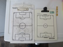 2 dry erase soccer field clip boards in Aurora, Illinois