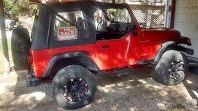 2002 Jeep Wrangler in Lackland AFB, Texas