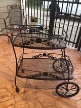 Meadowcraft Dogwood Tea Cart in Kingwood, Texas