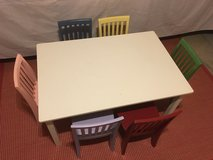 Pottery Barn Kids - Carolina Large Table and Chairs in Aurora, Illinois