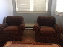 2 Comfy Brown Chairs in Tinley Park, Illinois