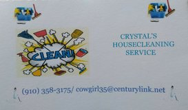 Crystal's Housecleaning Service in Camp Lejeune, North Carolina