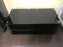 Black and Glossy/glass TV stand in Wiesbaden, GE