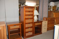 Pier 1 Imports Tall Chest & 2 Nightstands in Fort Lewis, Washington