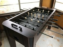 fooseball table in Fort Polk, Louisiana
