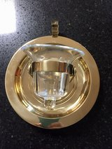 Partylite, Brass -  Ships Bell Wall Sconce or Table Top Votive Candle Holder in St. Charles, Illinois