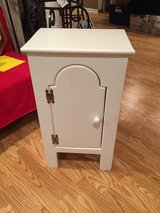 """Small White Wood Cabinet - 31"""" high in Aurora, Illinois"""