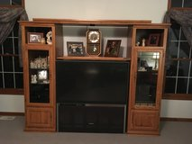 Entertainment center with TV in Joliet, Illinois