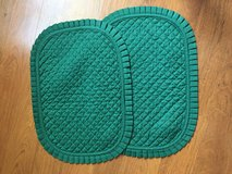 Set of 2 green placemats in Chicago, Illinois