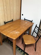 Dining table in Okinawa, Japan