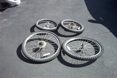 "20"" AND 26"" BIKE TIRES AND RIMS in Aurora, Illinois"