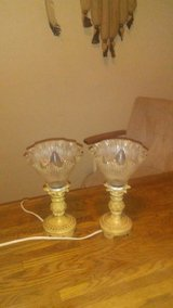 vintage lamp set in bookoo, US