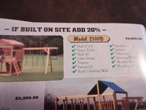 Amish built swing sets in Hopkinsville, Kentucky