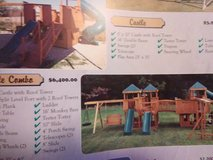 Amish built swing sets 2 in Hopkinsville, Kentucky