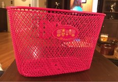 Pink Metal Bike Basket in Aurora, Illinois