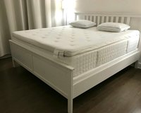 King size bed full set New white in Los Angeles, California