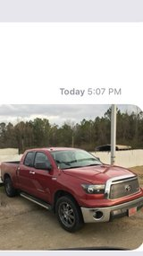 """2011 TRD 4x4 tundra with painted camper, 20"""" wheels, in Leesville, Louisiana"""