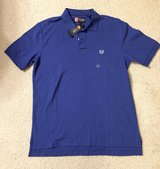 NEW! Mens CHAPS Ralph Lauren Blue Performance Golf Polo Shirt Size M in Bolingbrook, Illinois
