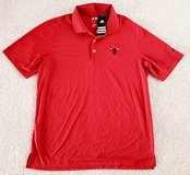 NEW! NBA BULLS Adidas Puremotion Performance Golf Polo T-Shirt Collection Men's L in Orland Park, Illinois