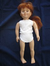 """BATTAT Doll 18"""" Red Hair Blue Sleepy Eyes ~ EXCELLENT in Glendale Heights, Illinois"""