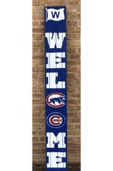 Chicago Cubs Welcome Porch Sign in Bolingbrook, Illinois
