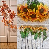 PIER 1 Fall Flowers Lot. Set of 8. in Okinawa, Japan