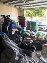 huge garage sale in Camp Pendleton, California