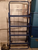 Wire rack shelf in Fort Carson, Colorado