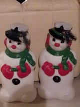 Snowmen in Fort Carson, Colorado