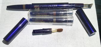 ESTEE LAUDER AUTOMATIC BROW PENCIL &/or LIP DUO with REFILLS. NEVER USED in Lakenheath, UK