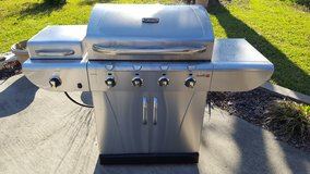 Char-Broil TRU-Infrared 4 Burner, 36,000 BTUs Gas Grill With Side Burner in Fort Polk, Louisiana