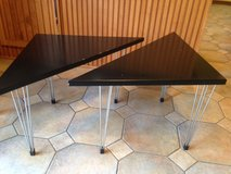 Mid-Century Modern end tables in Naperville, Illinois