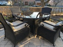 : ) ALL-WEATHER WICKER PATIO SET in Aurora, Illinois