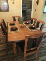 All Wood Dining Room Set in Camp Lejeune, North Carolina