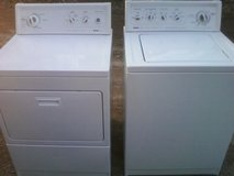Kenmore Washer and Dryer in Camp Lejeune, North Carolina