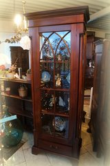gorgeous mahagony display cabinet in Ramstein, Germany