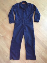 Mens Durable Press Navy Blue Work Jumpsuit Coveralls Size 42-Regular in Oswego, Illinois