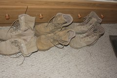 Army boots in Rolla, Missouri