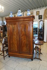 elegant Biedermeier armoire - walnut in Ramstein, Germany