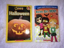 "Halloween Books for kids Level 1 ""Ready, Set, Boo!"" and National Geographic Kids Hallowee in Lockport, Illinois"