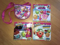 3 Shopkins Books and Pink Shopkins Purse! in Lockport, Illinois