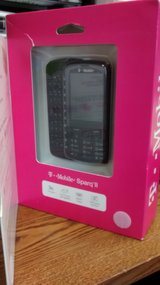 Alactel Sparq II 875 3G Cell Phone w/ QWERTY Keyboard (T-Mobile) - Black in St. Charles, Illinois