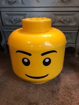 Large LEGO sort and store Minifigure Head Container in 29 Palms, California