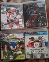 Ps3 games all four for 5.00 in Travis AFB, California