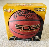 NEW! Rawlings Edge Composite Official Size Basketball 29.5 BNIB in Tinley Park, Illinois